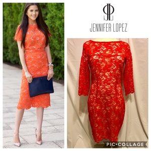 Jennifer Lopez Lace Dress